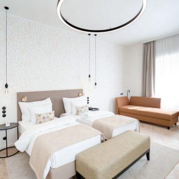 fotografie hotelového pokoje - fotograf hotelů a interiérů Tomáš Kasal