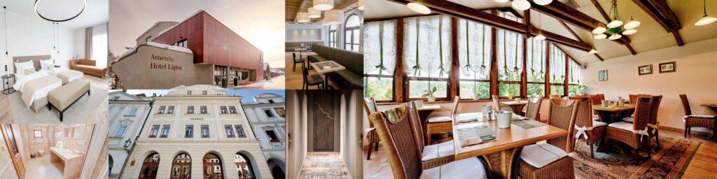 fotografování restaurací, hotelů, penzionů AirBnB